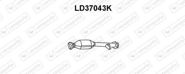 Catalyseur VENEPORTE LD37043K (X1)