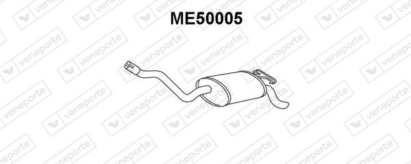 Silencieux VENEPORTE ME50005 (X1)