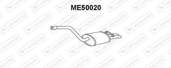 Silencieux VENEPORTE ME50020 (X1)