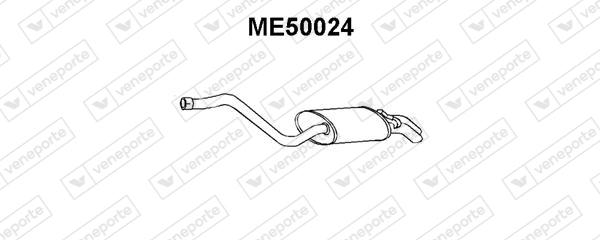 Silencieux VENEPORTE ME50024 (X1)