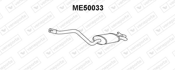 Silencieux VENEPORTE ME50033 (X1)