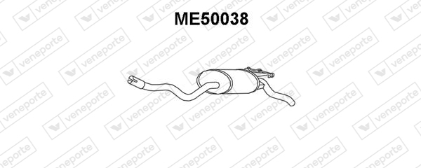 Silencieux VENEPORTE ME50038 (X1)