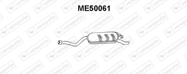 Silencieux VENEPORTE ME50061 (X1)