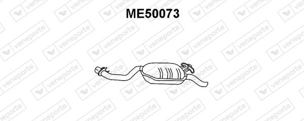 Silencieux VENEPORTE ME50073 (X1)