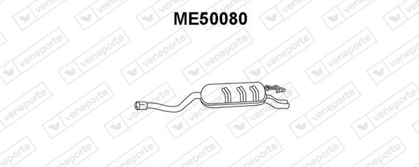 Silencieux VENEPORTE ME50080 (X1)