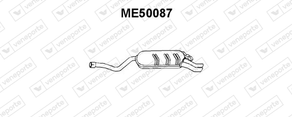 Silencieux VENEPORTE ME50087 (X1)