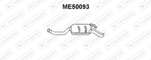 Silencieux VENEPORTE ME50093 (X1)