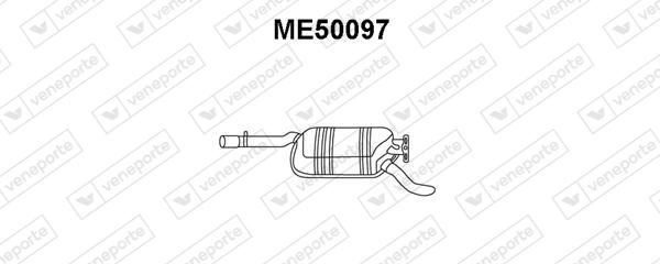 Silencieux VENEPORTE ME50097 (X1)