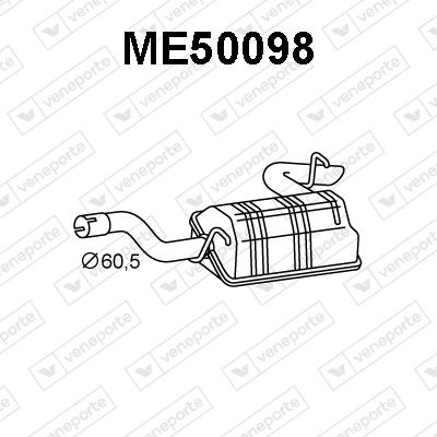 Silencieux VENEPORTE ME50098 (X1)