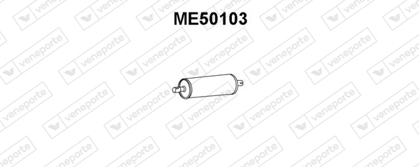 Silencieux VENEPORTE ME50103 (X1)