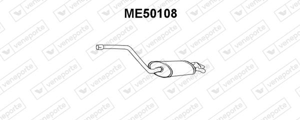 Silencieux VENEPORTE ME50108 (X1)