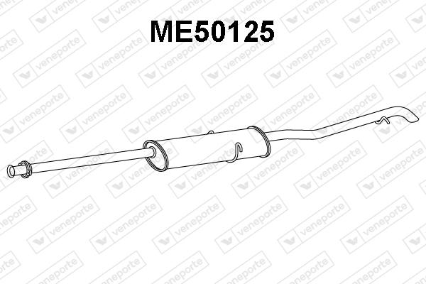Silencieux VENEPORTE ME50125 (X1)