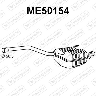 Silencieux VENEPORTE ME50154 (X1)