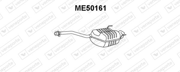 Silencieux VENEPORTE ME50161 (X1)