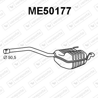 Silencieux VENEPORTE ME50177 (X1)