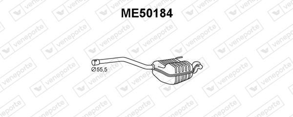 Silencieux VENEPORTE ME50184 (X1)