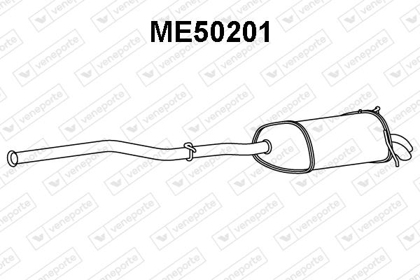 Silencieux VENEPORTE ME50201 (X1)