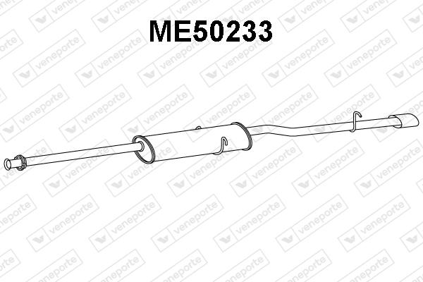Silencieux VENEPORTE ME50233 (X1)
