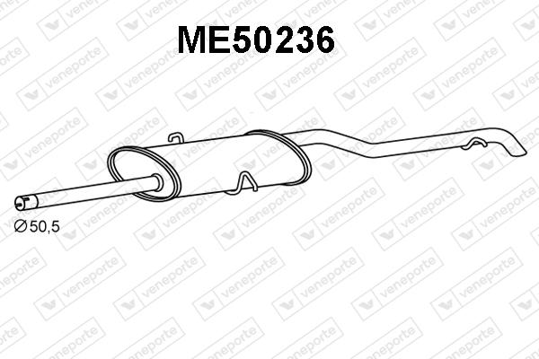 Silencieux VENEPORTE ME50236 (X1)