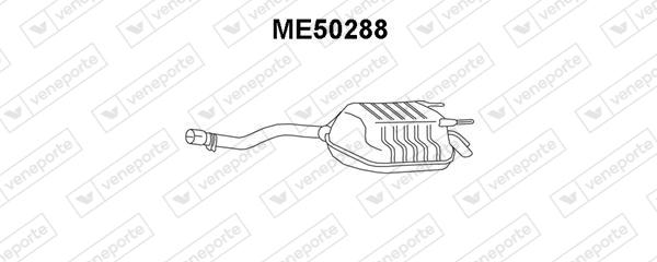Silencieux VENEPORTE ME50288 (X1)