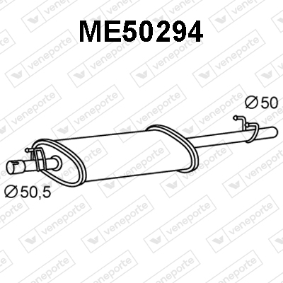Silencieux VENEPORTE ME50294 (X1)