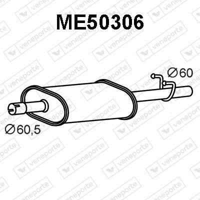 Silencieux VENEPORTE ME50306 (X1)
