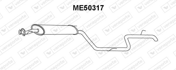 Silencieux VENEPORTE ME50317 (X1)