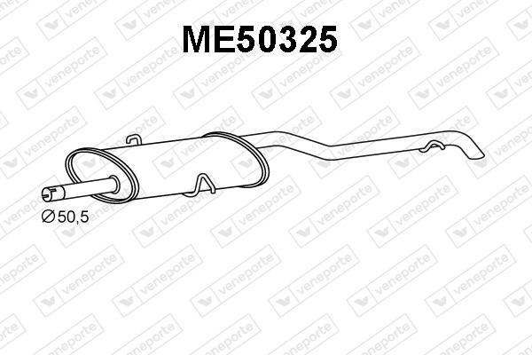 Silencieux VENEPORTE ME50325 (X1)