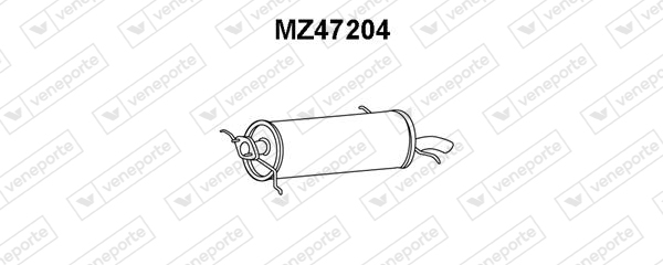 Silencieux arriere VENEPORTE MZ47204 (X1)