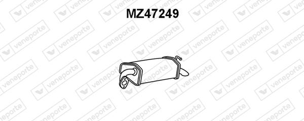 Silencieux arriere VENEPORTE MZ47249 (X1)