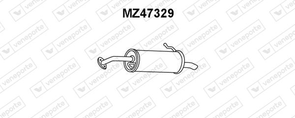Silencieux arriere VENEPORTE MZ47329 (X1)