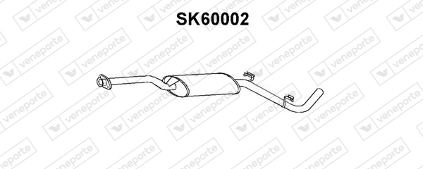 Silencieux avant VENEPORTE SK60002 (X1)