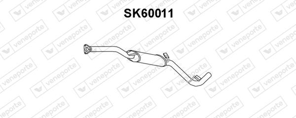 Silencieux avant VENEPORTE SK60011 (X1)