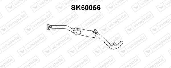 Silencieux avant VENEPORTE SK60056 (X1)