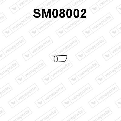 Tube d'echappement VENEPORTE SM08002 (X1)