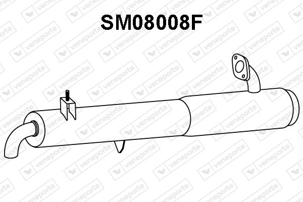 Filtre a particules - FAP VENEPORTE SM08008F (X1)