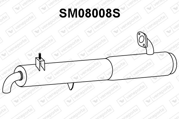 Filtre a particules - FAP VENEPORTE SM08008S (X1)