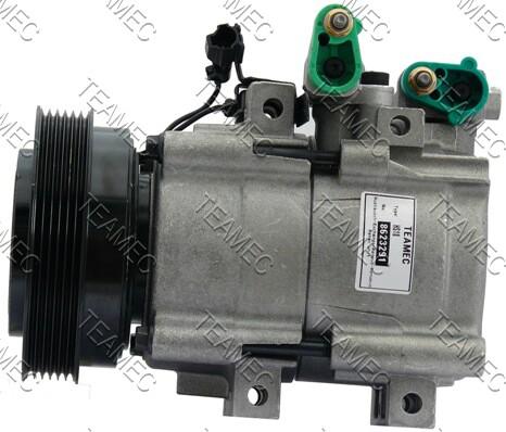 Compresseur TEAMEC 8623291 (X1)