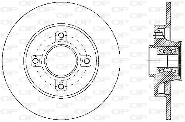 CITROEN 2 CV 4 6 Genuine QH Courroie De Ventilateur Moteur Système de refroidissement de remplacement