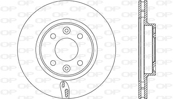 Disque de frein avant Solid parts BDA2717.20 (Jeu de 2)