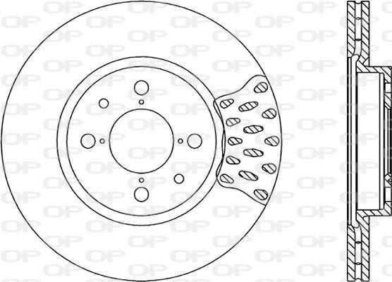 Disque de frein avant Solid parts BDR1146.20 (Jeu de 2)