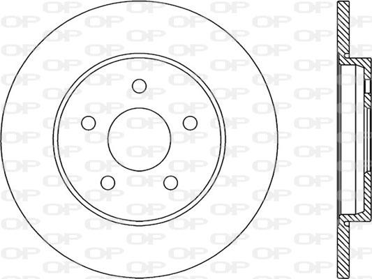 Disque de frein Solid parts BDR1948.10 (Jeu de 2)