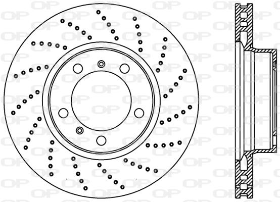Disque de frein Solid parts BDR2230.25 (X1)