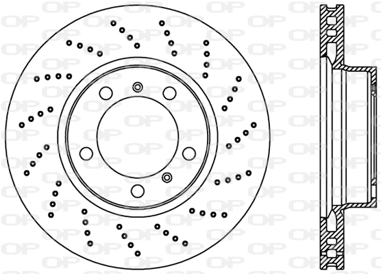Disque de frein Solid parts BDR2231.25 (X1)
