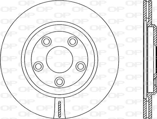 Disque de frein Solid parts BDR2358.20 (Jeu de 2)