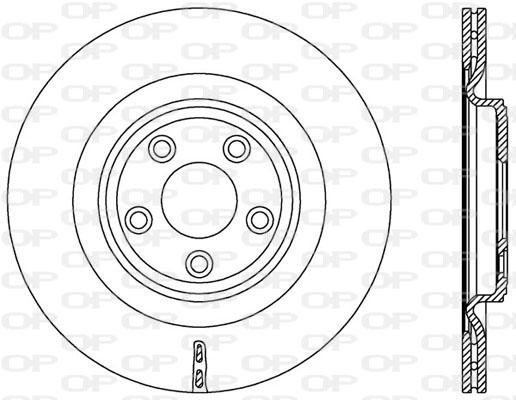 Disque de frein Solid parts BDR2578.20 (Jeu de 2)