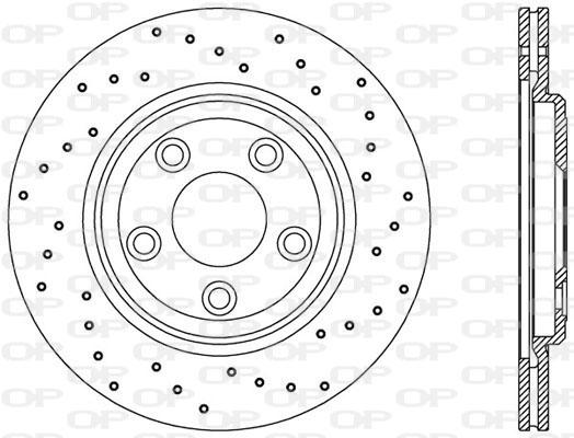 Disque de frein Solid parts BDRS2358.25 (Jeu de 2)