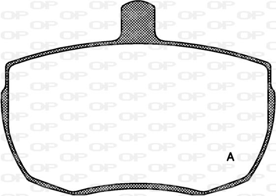 Plaquettes de frein avant Solid parts BPA0056.00 (Jeu de 4)