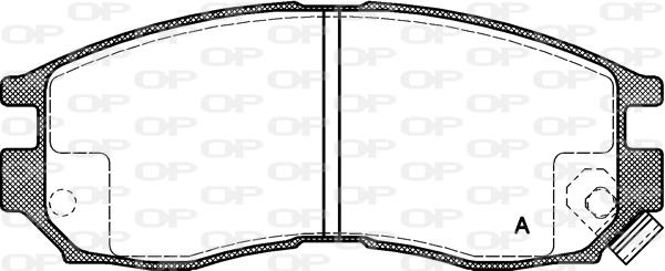 Courroies trapézoïdales crantées côtes Courroie 4pk780 pour HYUNDAI
