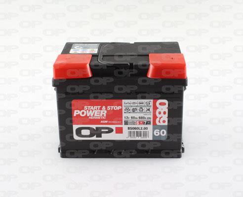 Batterie Solid parts BS060L2.00 (X1)